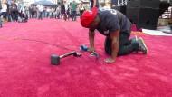 Wege zum Ruhm auf dem roten Teppich