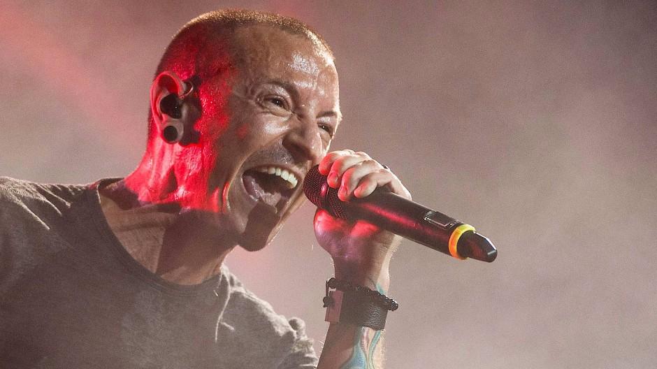 Chester Bennington (1976 bis 2017), Sänger der Rockband Linkin Park