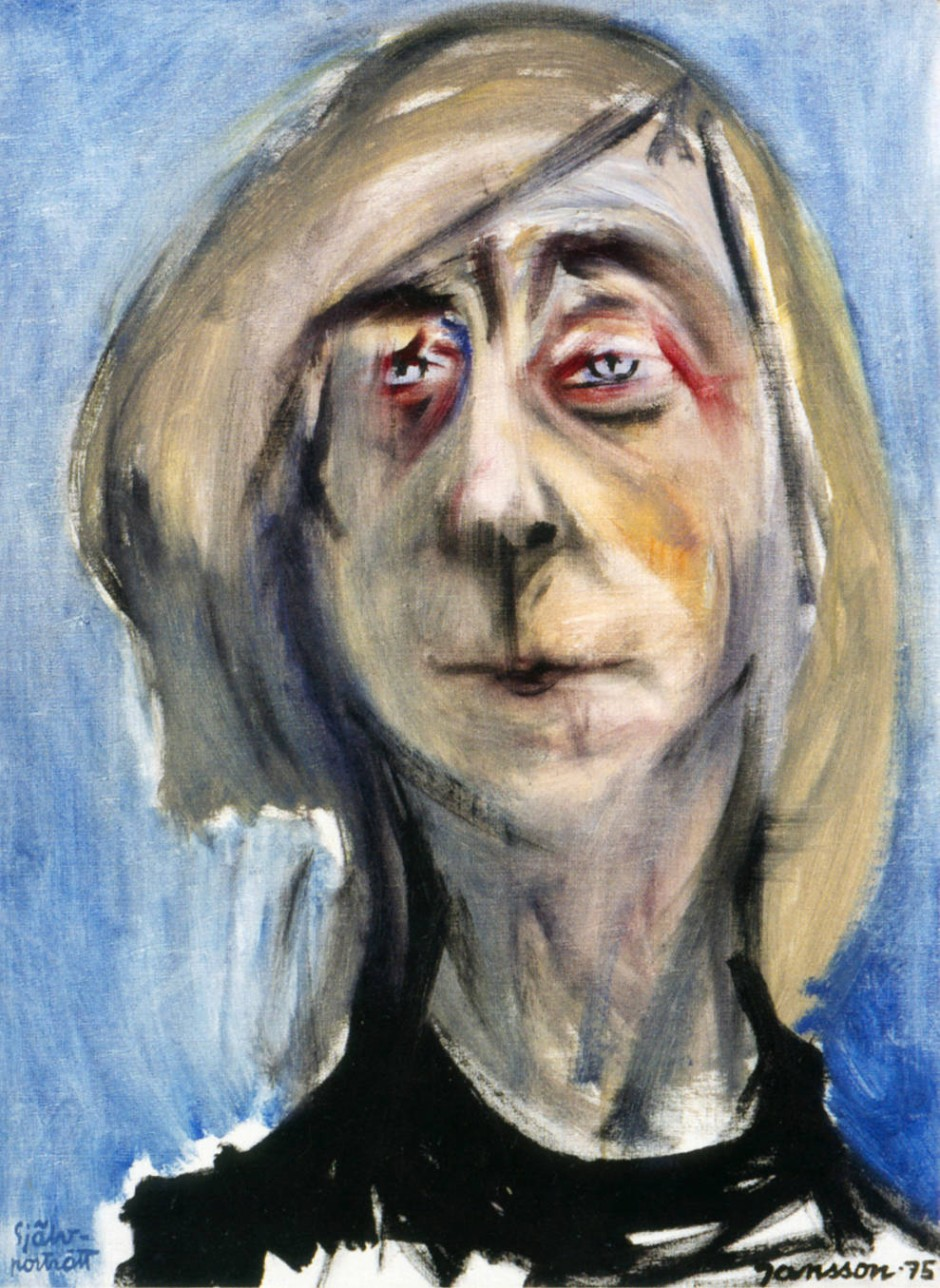 Das letzte Selbstporträt entstand 1975.