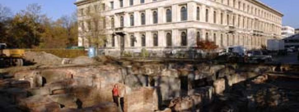 Braunes Haus münchen gräbt was wurde im braunen haus gefunden feuilleton faz