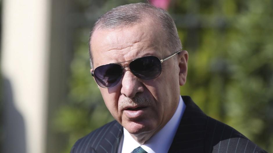 Der türkische Präsident Recep Tayyip Erdogan am Freitag in Istanbul