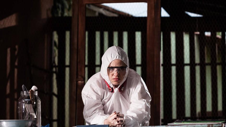 "Ist hungrig nach Liebe: Karine Teles als Gilda in der Serie ""Os ltimos Dias de Gilda"""