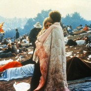 "Im Sommer 1969 - na, wo wohl? ""I'll camp out on the land to try and get my soul free""."