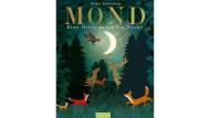 """Britta Teckentrup: """"Mond – Eine Reise durch die Nacht"""". Aus dem Englischen von Maria Höck. Ars Edition, München 2018. 32 S., geb., 15,– Euro."""