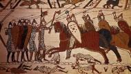 Teppich von Bayeux: Hält Macron sein Versprechen?