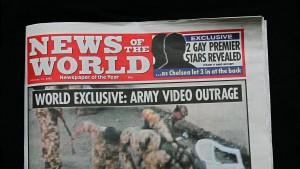 """Murdoch stellt """"News of the World"""" ein"""