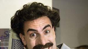Borat darf nicht nach Rußland