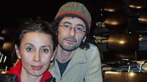 Shermin Langhoff mit Tuncay Kulaoglu