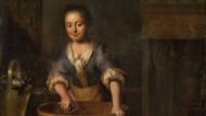 """Sie kocht so fromm, so liebenswürdig: """"Eine Köchin"""" des Malers Louis de Moni aus dem 18. Jahrhundert"""