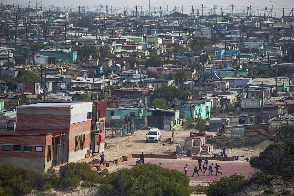 Khayelitsha ist die größte Township Kapstadts, Heimat von geschätzten anderthalb Millionen Menschen.