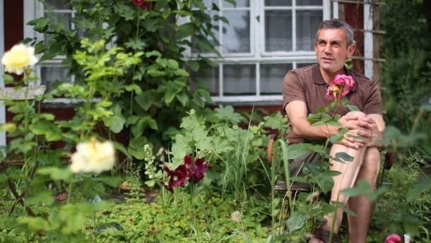 Wladimir Kaminer im Schrebergarten