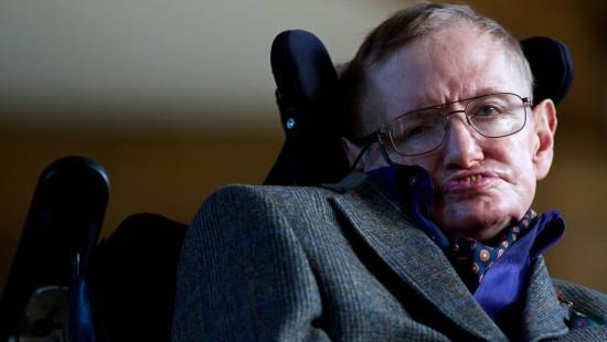 Stephen Hawking wäre gern Superman