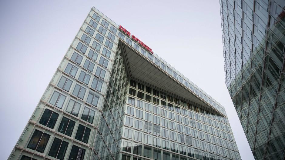 Verlagsgebäude des Spiegel-Verlags in Hamburg