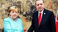 Merkel sieht nach Treffen mit Erdogan etwas Entspannung