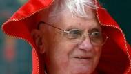 Am Montag feiert er seinen fünfundachtzigsten Geburtstag: der Papst vor fünf Jahren in Wien.
