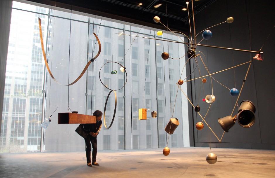 Komplett runderneuert: Eine Installation (ohne Titel) von David Tudor.