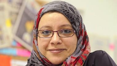 """In der Redaktion der """"Saudi Gazette"""" hat sie das Sagen: Chefredakteurin Somayya Jarbati"""