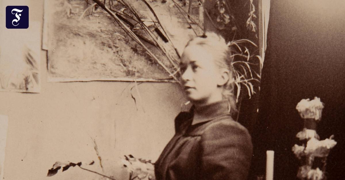 Biografie von Hilma af Klint: Woher kommen diese Buchstaben?