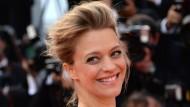 Heika Makatsch auf dem roten Teppich von Cannes vor drei Wochen