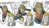 Ein Comic über das WM-Halbfinale von Sevilla 1982