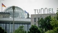 Bundestag als Symbol für die Demokratie