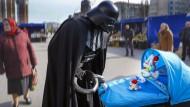 Ich bin dein Opa: Ein Darth-Vader-Klon in Kiew