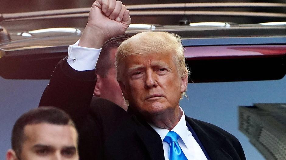 Hat noch lange nicht genug: Donald Trump.