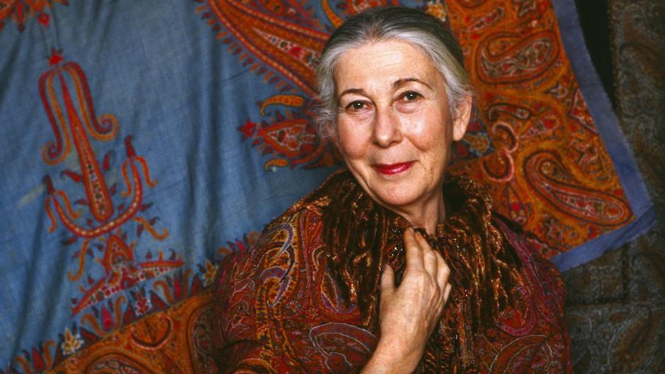 Monique Lévi-Strauss auf einer Aufnahme aus dem Jahr 1990