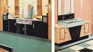 So pastellig liebten es die dreißiger Jahre: Aus einem Katalog des Farbherstellers Pinchin Johnson & Co anno 1935.
