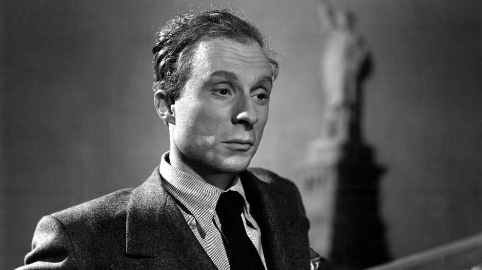 "Norman Lloyd in ""Saboteur"", 1942"