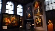 Das große Atelier gleich neben dem Wohnhaus: Hier arbeitete eine ganze Armee für das Unternehmen Rubens.