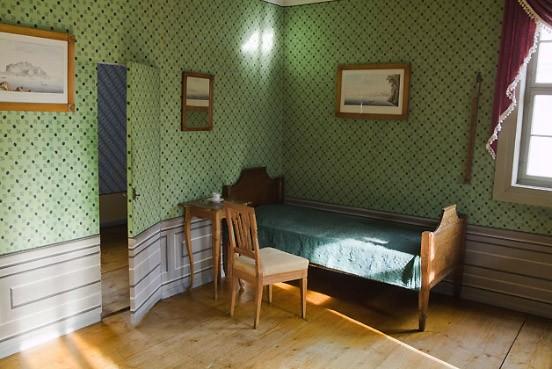 bilderstrecke zu schillerhaus in weimar ein tapetenwechsel h tte ihm gut getan bild 6 von 10. Black Bedroom Furniture Sets. Home Design Ideas