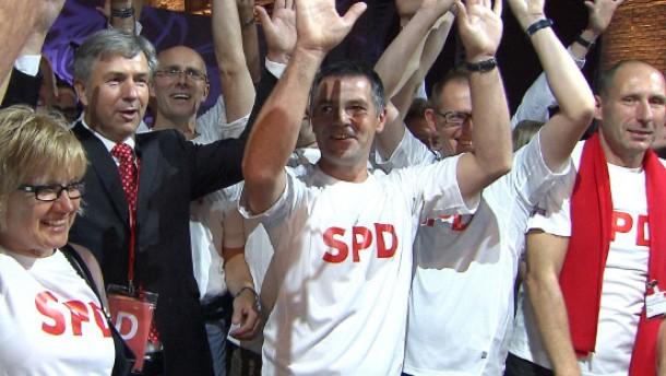 Fragmente aus einer Organisation namens SPD
