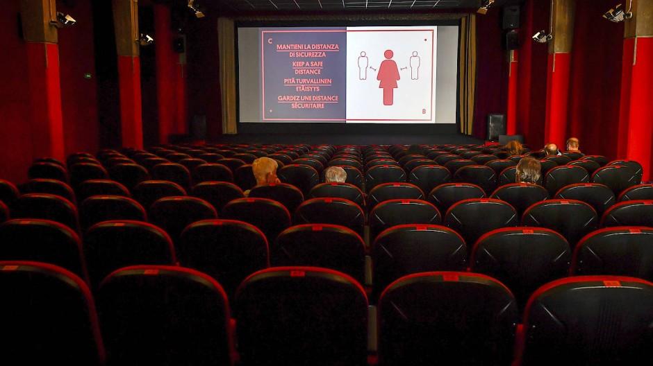 Kino unter Corona-Abstandsregeln