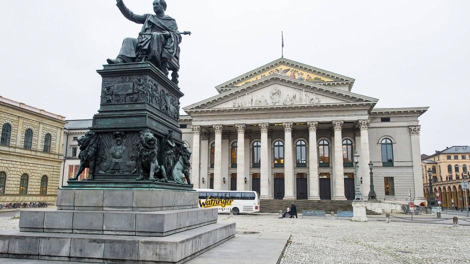 Immer noch geschlossen: die Bayerische Staatsoper in München