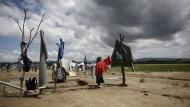 Das Open Air von Idomeni
