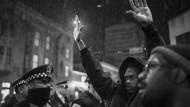 Wenn Leben gegen Leben steht: Protest gegen Polizeigewalt in Chicago, nachdem der 17 Jahre alte Laquan McDonald erschossen wurde.