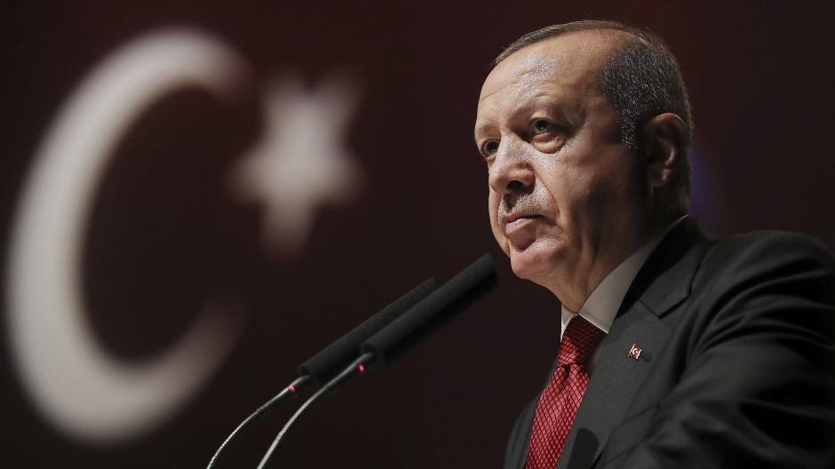 Seine seit 2002 verfolgte Medienpolitik ist gescheitert: der türkische Präsident Erdogan am vergangenen Freitag in Istanbul.