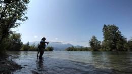 Am Fluss mit Ernstl, Siegi und Kurti