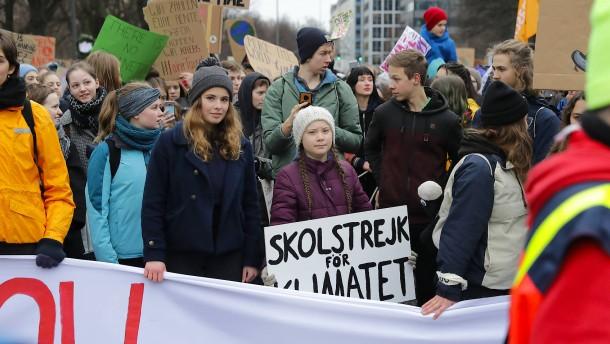 Ob Schulstreiks für das Klima in Ordnung sind