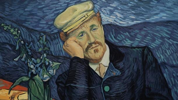 Wollen wir seine Gemälde laufen sehen?