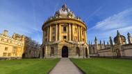 Am Radcliff Square im Zentrum von Oxford