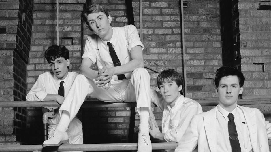 Talk Talk, 1982: Simon Brenner (von links), Mark Hollis, Lee Harris und Paul Webb