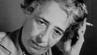 Die politische Denkerin und Journalistin Hannah Arendt