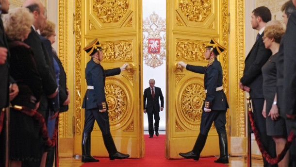 Putin ist verrückt