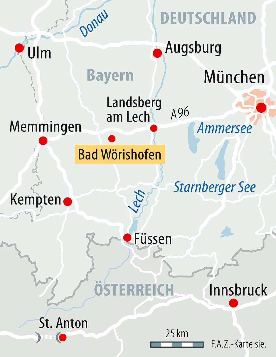Bad Worishofen Sebastian Kneipp Behandelt Sogar Papste