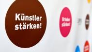 Erfolgreiche Mission? Bei der Berlinale gab es noch Protest gegen die Reformpläne der Regierung für das Urhebervertragsrecht.