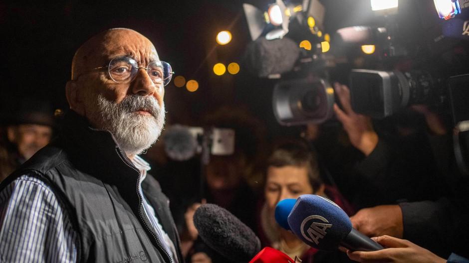 Opfer der türkischen Justizwillkür: der Journalist und Schriftsteller Ahmet Altan