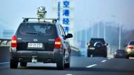 Dieses vom chinesischen Militär entwickelte Auto fuhr am 24. November 2012 114 Kilometer von Peking nach Tijuan.