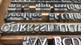 Pioniere der modernen Schrift